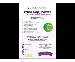 Konsultacje z holenderskiego, pomoc językowa- Filos Logos