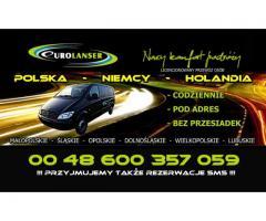 EuroLanser- busy Polska- Niemcy- Polska. Busy Kraków Dortmund